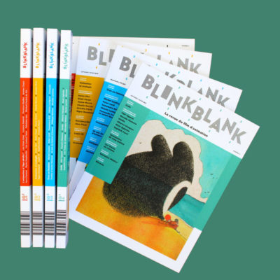 Parution du n°4 de Blink Blank, la revue du film d'animation